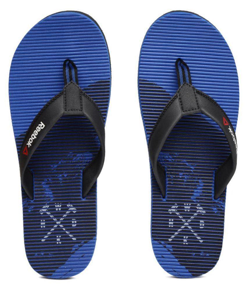 5e335aedf Reebok Black Thong Flip Flop Price in India- Buy Reebok Black Thong Flip  Flop Online at Snapdeal