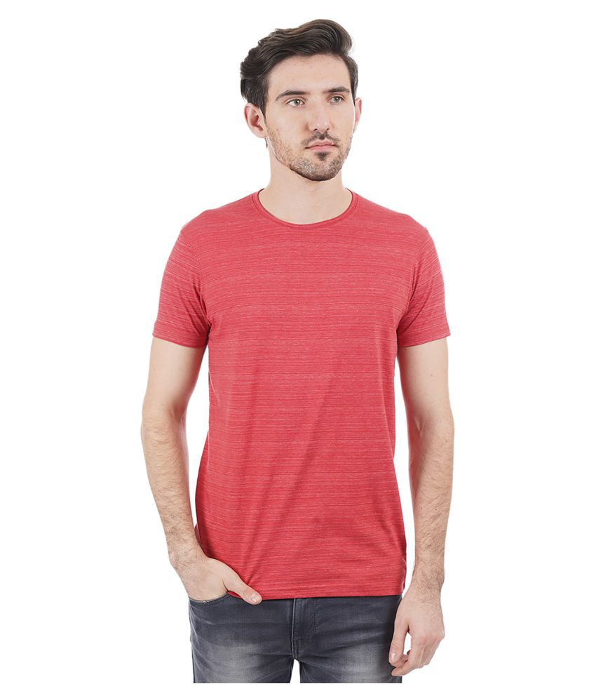 Pepe Jeans Red Half Sleeve T-Shirt