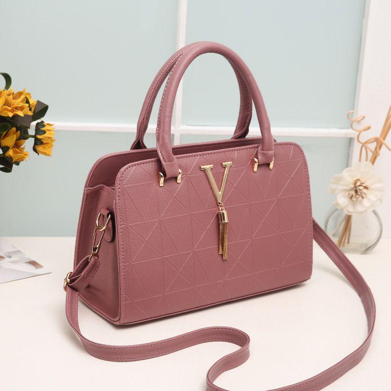 Levaso Pink Pure Leather Crossbody
