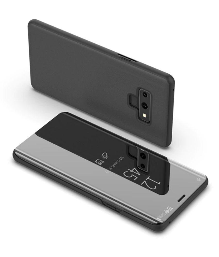 Huawei Nova 3i Flip Cover by Mobilecops - Black - Flip