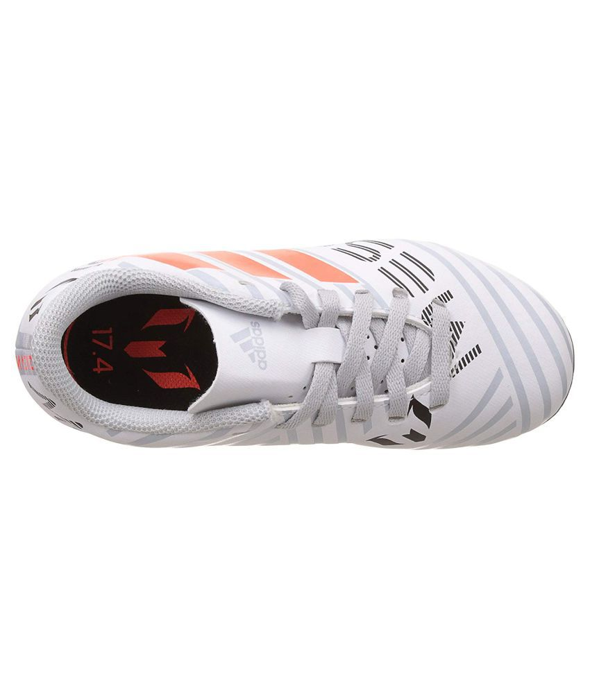 4fc6f13dc Adidas Boys NEMEZIZ MESSI 17.4 FXG J Printed Football Shoes Price in ...