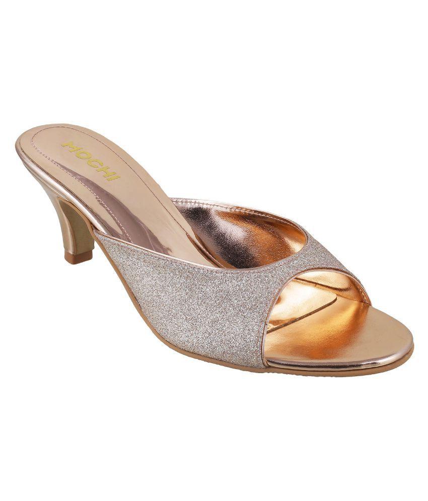 Mochi BEIGE Stiletto Heels
