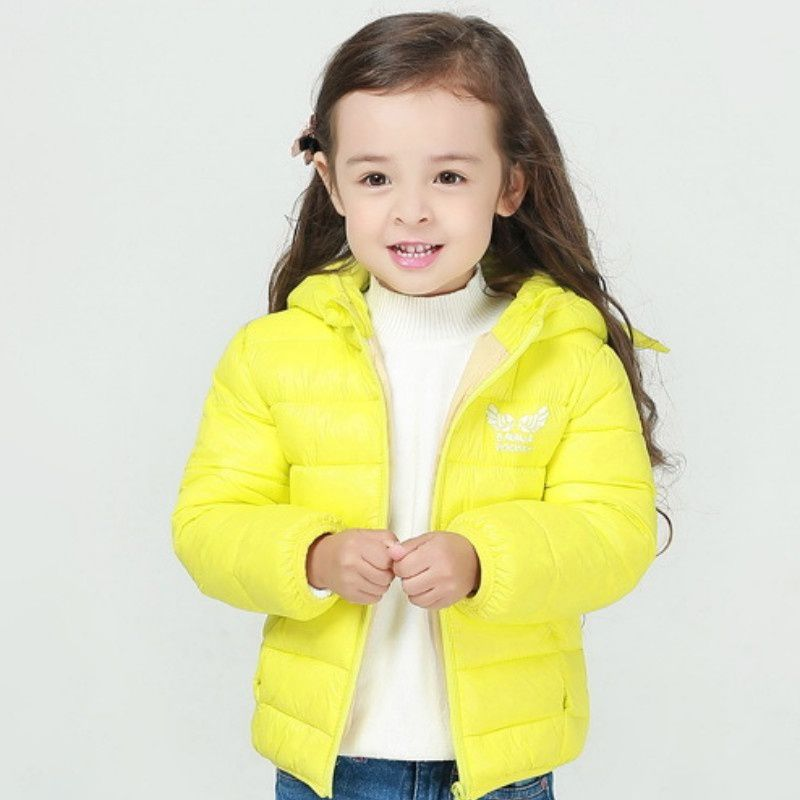 1PC Children Down Jackets Winter Boys and Girls Keep Warm Lovely Wings Down Wear