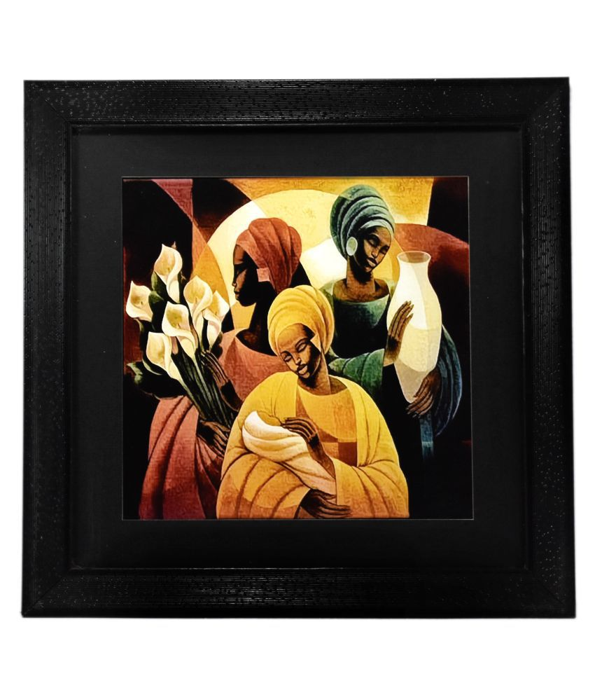 Gallery 99 Ancient Ladies Canvas Painting With Frame