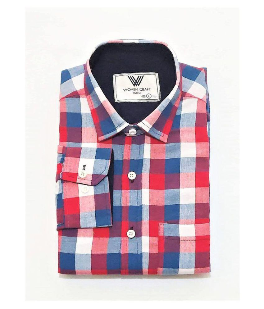 Woven Craft 100 Percent Cotton Shirt