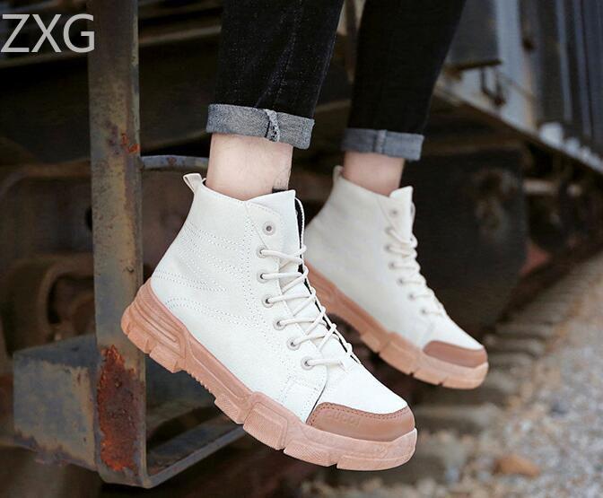 Niti White Casual Boot