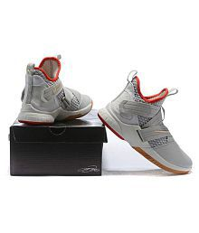 7def04f0b82008 Quick View. Nike Nike Lebron Soldier 12 Gray White Midankle Male White