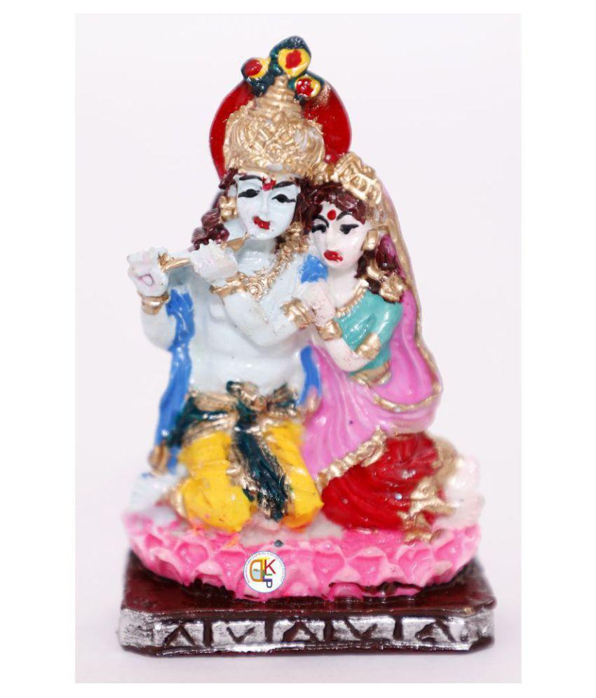 KDT Radha Krishan Polyresin Idol