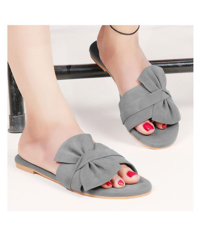 PKKART Gray Flats