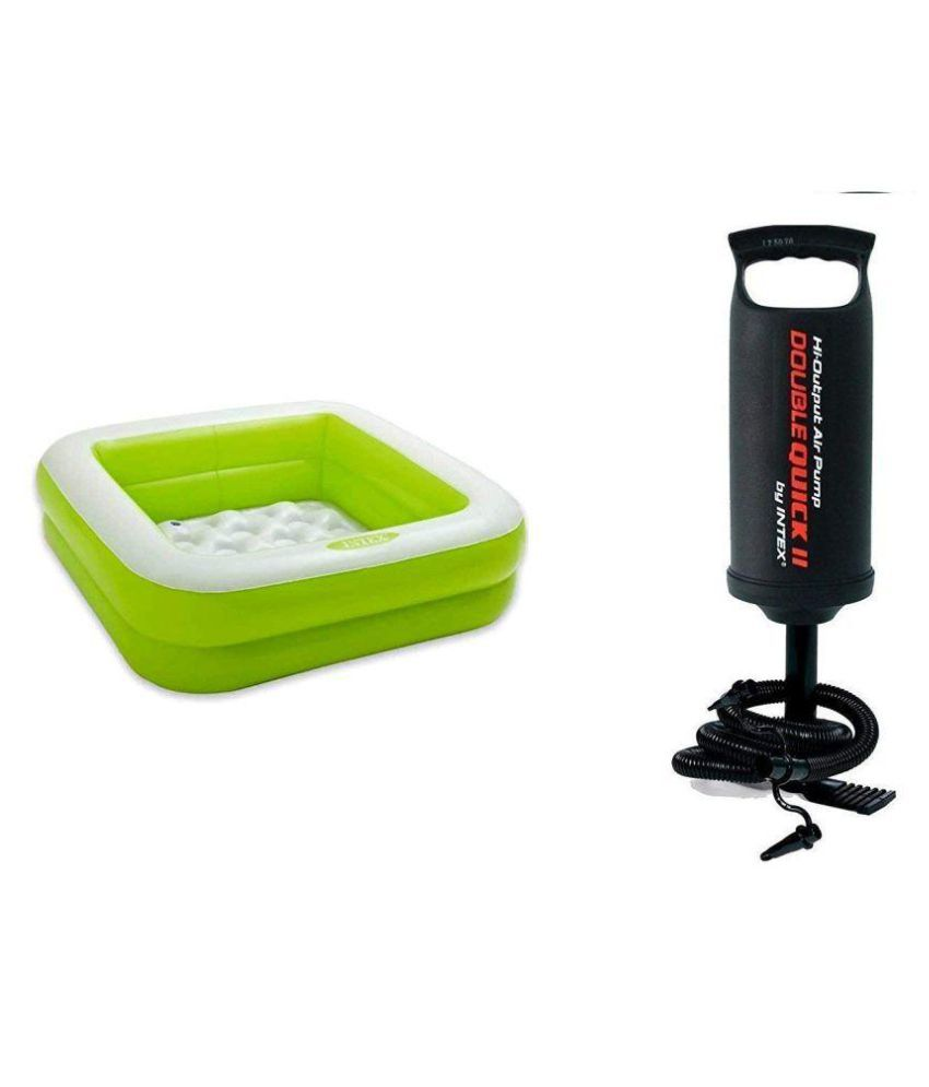 Aastha Enterprise  Multicolour Inflatable Play Box Pool and Pump