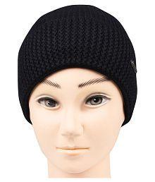 a2c166e235d Quick View. Bongio men s Black winter Woolen cap