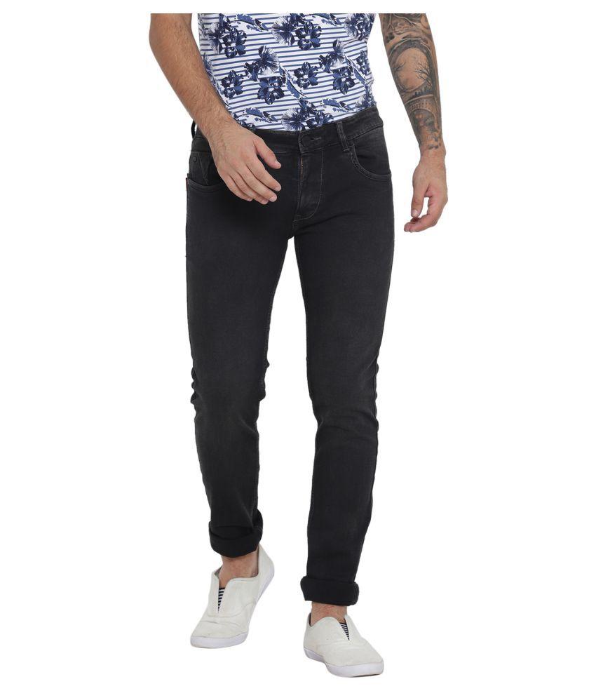 Monte Carlo Black Skinny Jeans