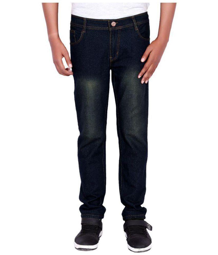 billshope Black Relaxed Jeans