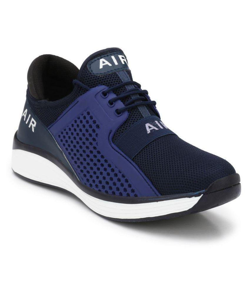 BRADLAN Sneakers Blue Casual Shoes