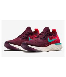 Nike Epic React Flyknit Red Obit Running Shoes Red 3580ef09b8