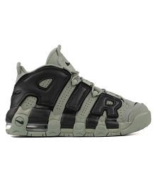 low priced 09a79 b06db Quick View. Nike AIR MORE UPTEMPO (GS) MILITARY Green Basketball Shoes