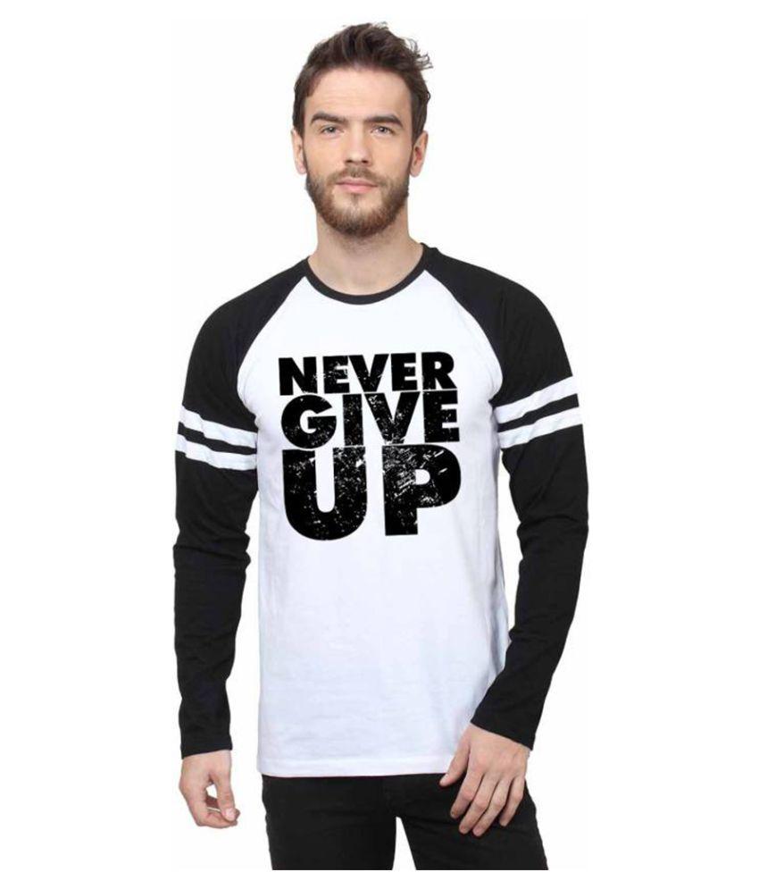 Koutons White Full Sleeve T-Shirt