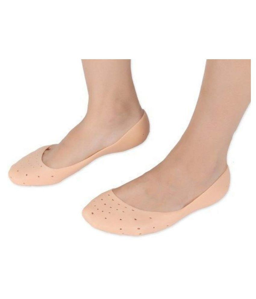 DONDA Moisturizing Silicone Socks for Cracked Heel Free Size