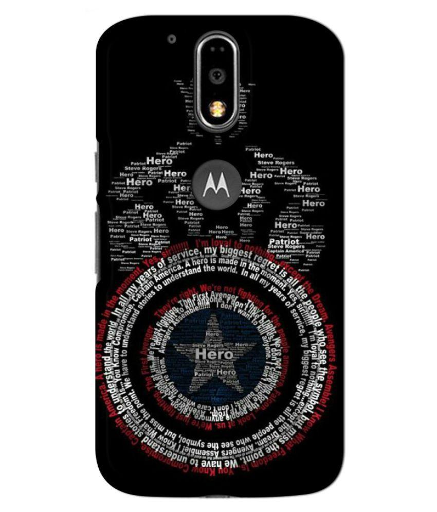 Moto G4 Plus Printed Cover By GV GODESHWARAM