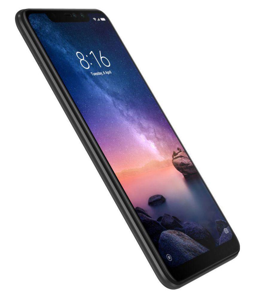 MI Note 6 Pro (4GB RAM) ( 64GB , 4 GB ) Black