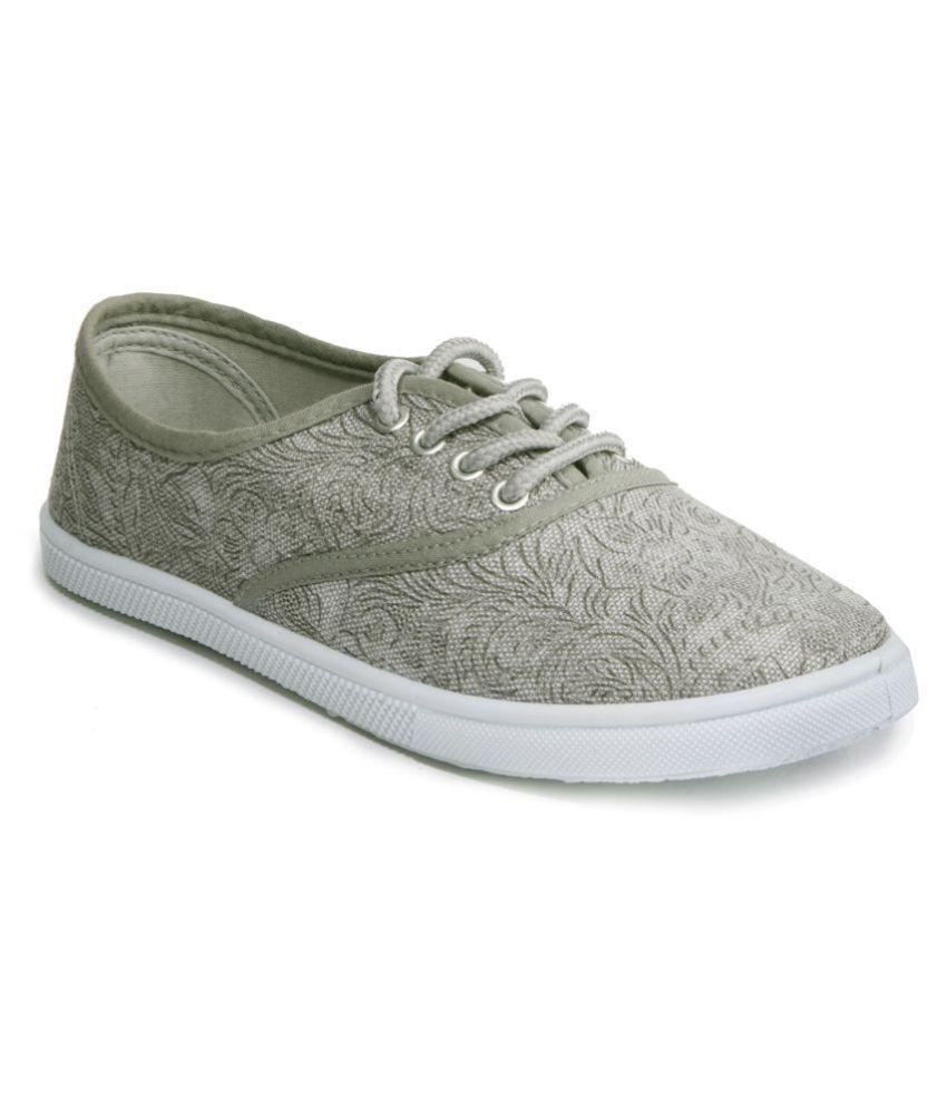Khadim's Gray Casual Shoes