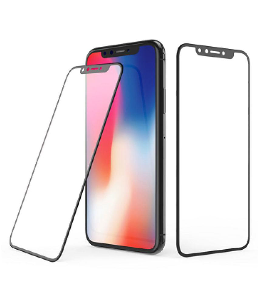 Apple iPhone XS Max 6D Screen Guard By lenmax UV Protection, Anti Reflection.