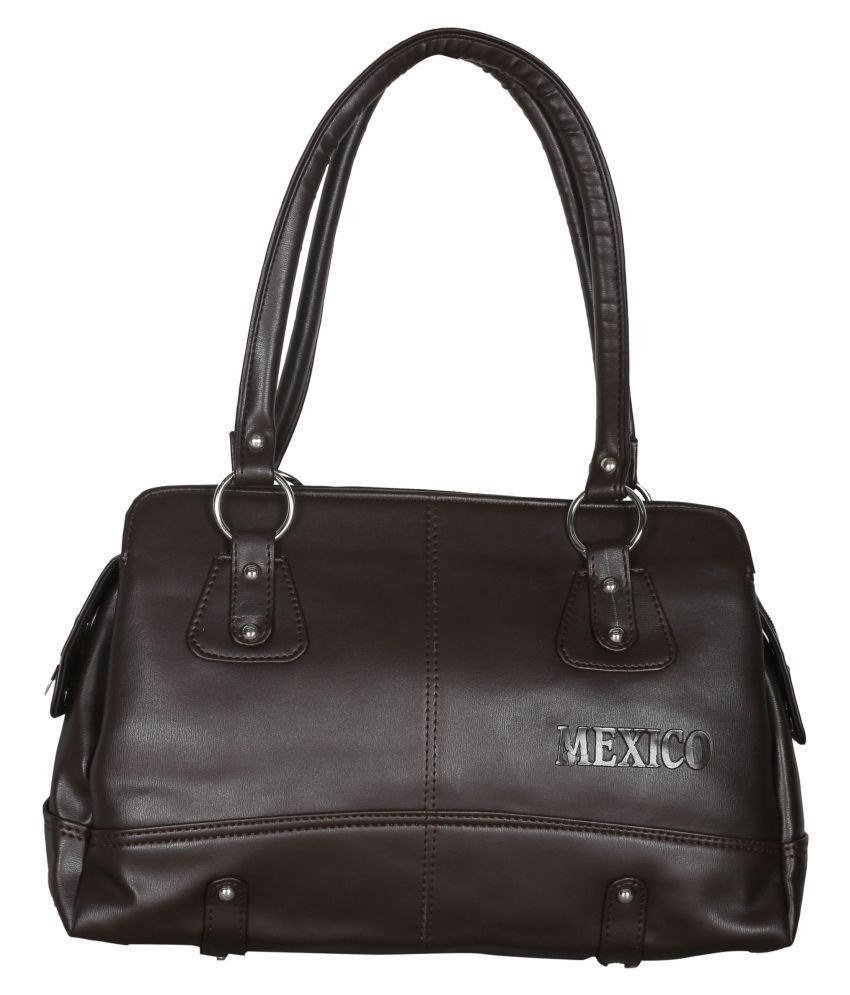 Goodwin Black P.U. Shoulder Bag