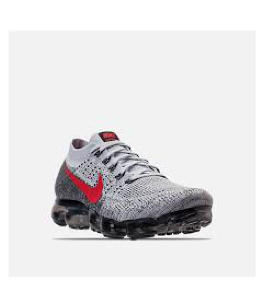 b7673dbe6c Nike AIR VAPORMAX WHITE/BLACK/RED White Basketball Shoes - Buy Nike AIR  VAPORMAX WHITE/BLACK/RED White Basketball Shoes Online at Best Prices in  India on ...