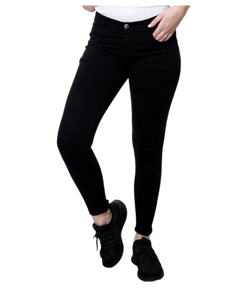Stanvee Denim Jeans - Black