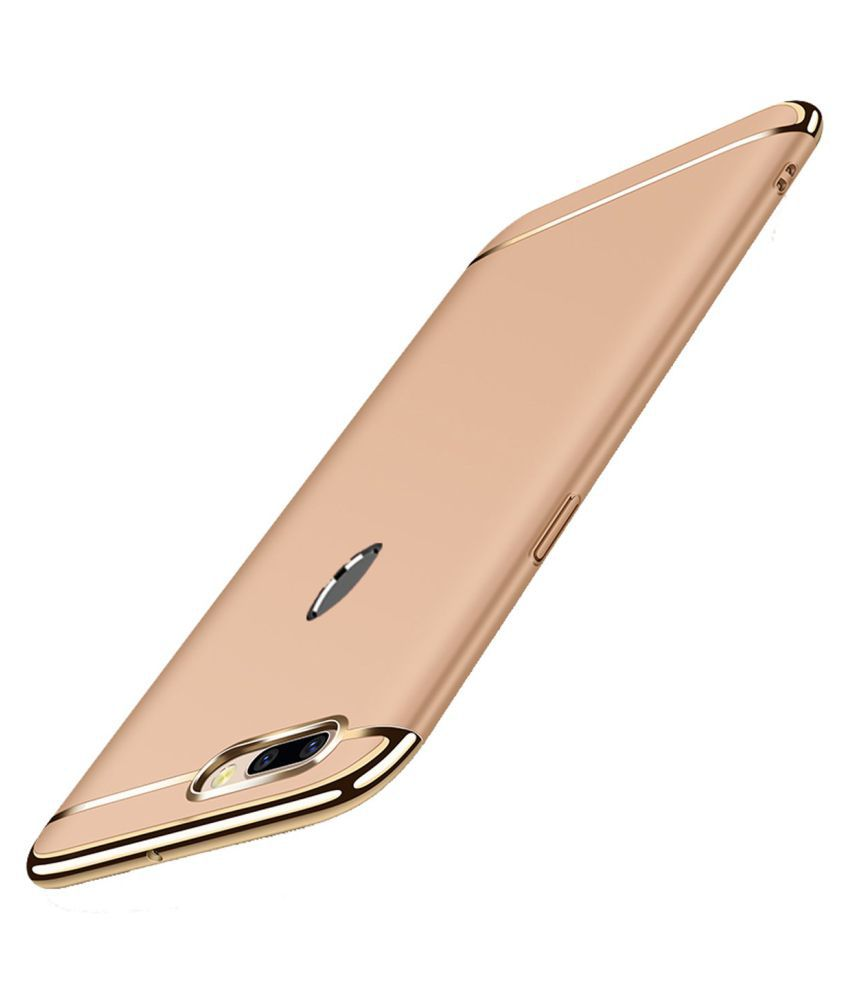 Samsung Galaxy A7 2018 Hybrid Covers JKR - Golden