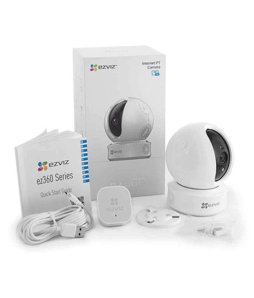 720p/ Pan 340°-motion track Home Surveillance EZVIZ ez360 Indoor