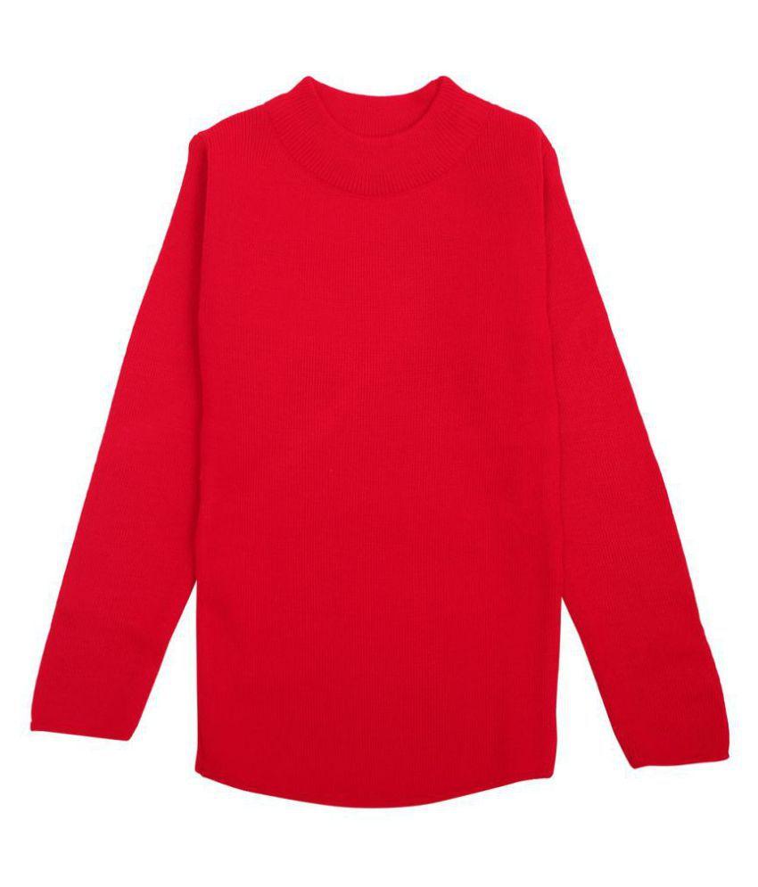 Woollen Sweaters for Girls- Plain