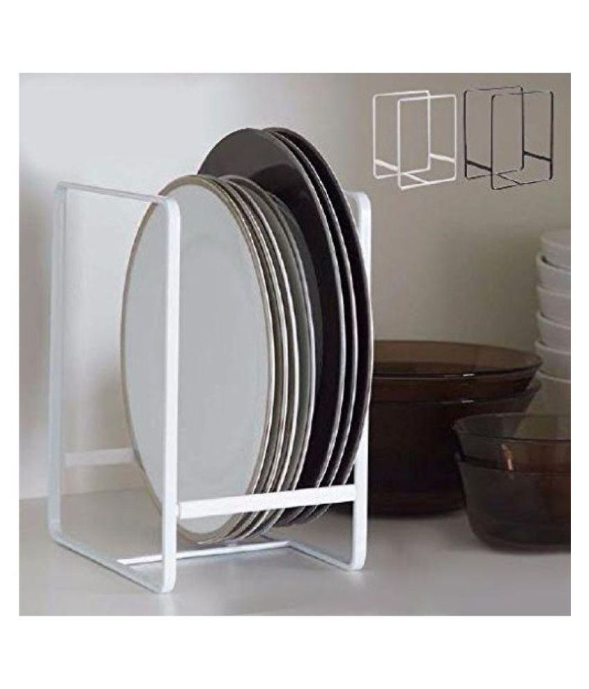 steel kitchen organiser dish rack plate stand for cupboard rh snapdeal com