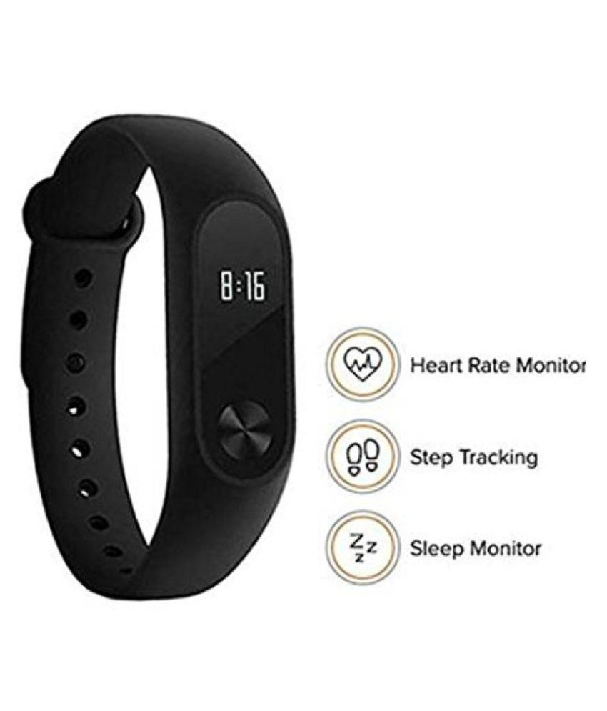 f898197c408 ROYAL M-2 Waterproof Heart Monitoring Fitness Smart Band (Compatible with all  Android   IOS Devices - features similar to MI watch)  Buy Online at Best  ...