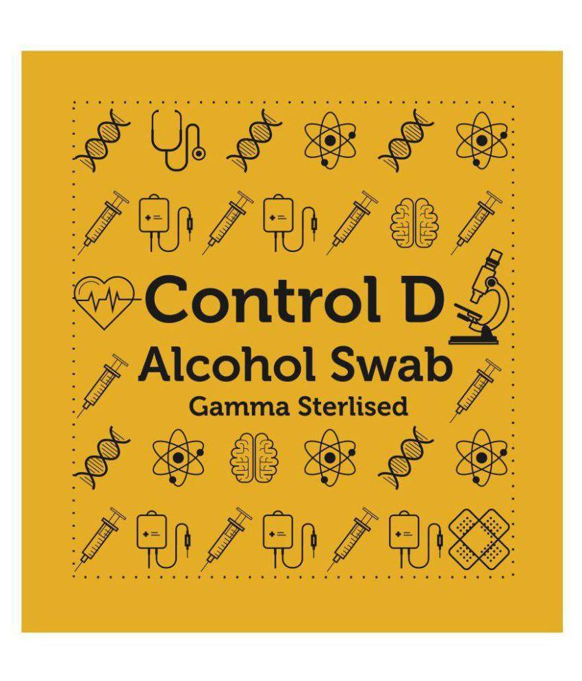 Control D Alcohol Swabs / Prep Pads Miscellaneous