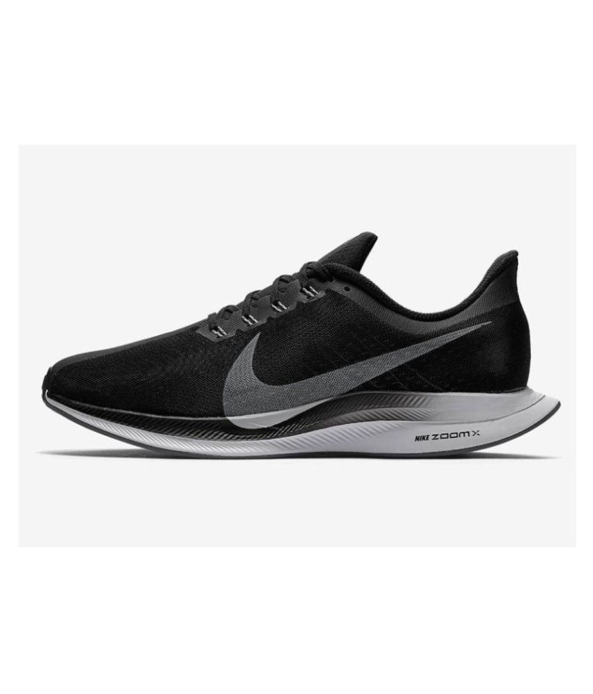 4814030a27a Nike pegasus 35 turbo Running Shoes Black For Gym Wear  Buy Online at Best  Price on Snapdeal
