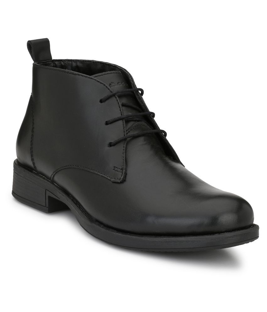 babla traders Black Chukka boot