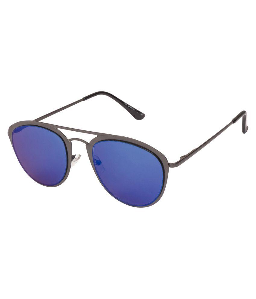 Arzonai Blue Aviator Sunglasses ( MA-494-S5 )