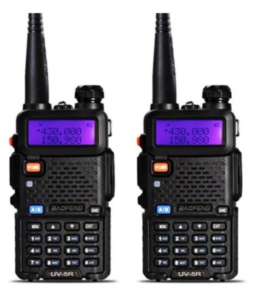 Baofeng UV-5R Walkie Talkie With Wide Frequency Range, FM Radio, LED Torch,  5-10km Range, 128CH