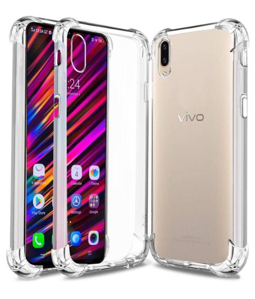 Vivo V11 Pro Plain Cases MobiNok - Transparent