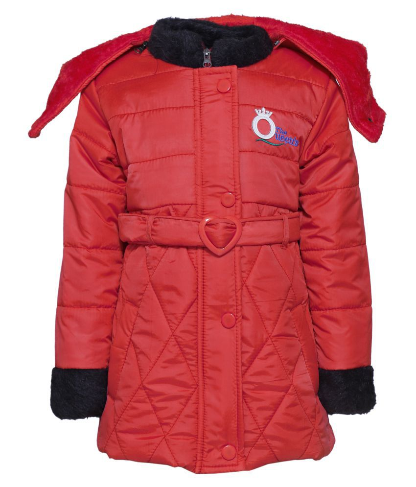 Come In Kids Girls Winter Wear Jacket.
