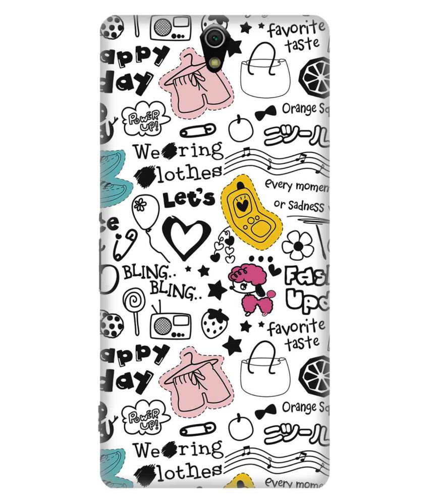 Sony Xperia C5 Ultra 3D Back Covers By 7C
