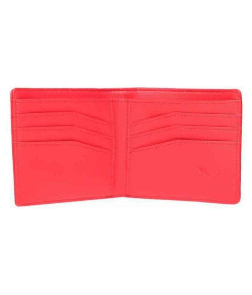 zaoszczędź do 80% przytulnie świeże buty sportowe Puma F1 Leather Leather Red Casual Regular Wallet: Buy ...