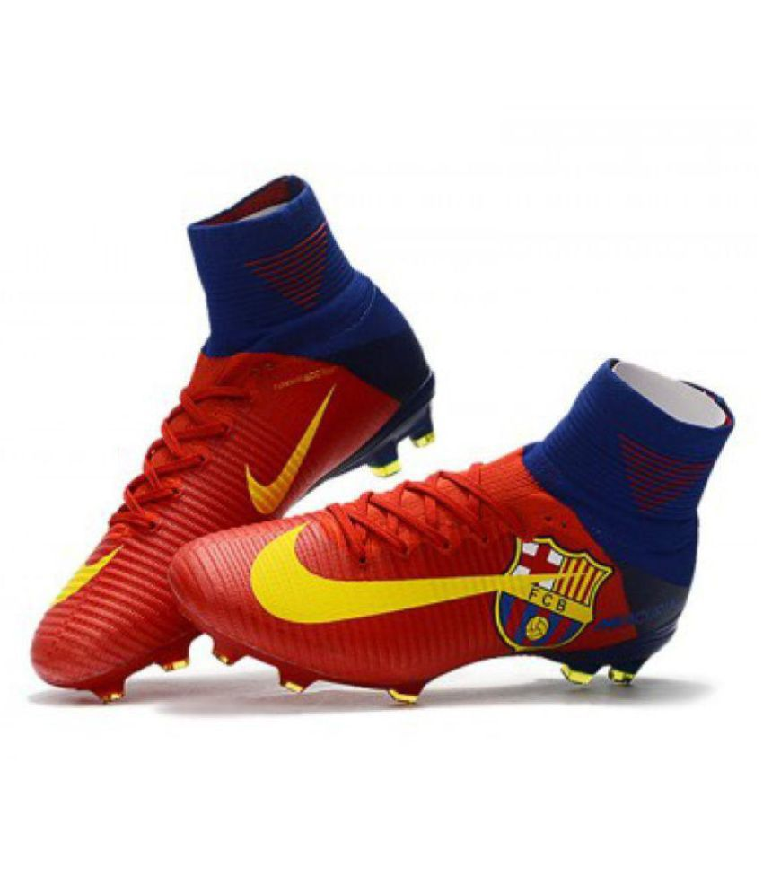 64b65db25a5a Nike Red Football Shoes - Buy Nike Red Football Shoes Online at Best ...