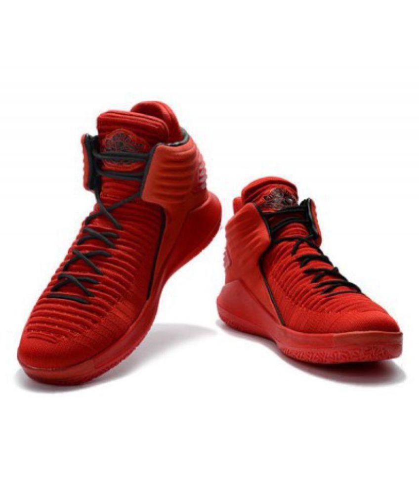 68b641aeb1e5ec Nike Air Jordan 32 Red Basketball Shoes - Buy Nike Air Jordan 32 Red ...