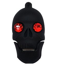 Pankreeti Skull 32GB USB 2.0 Fancy Pendrive Pack of 1