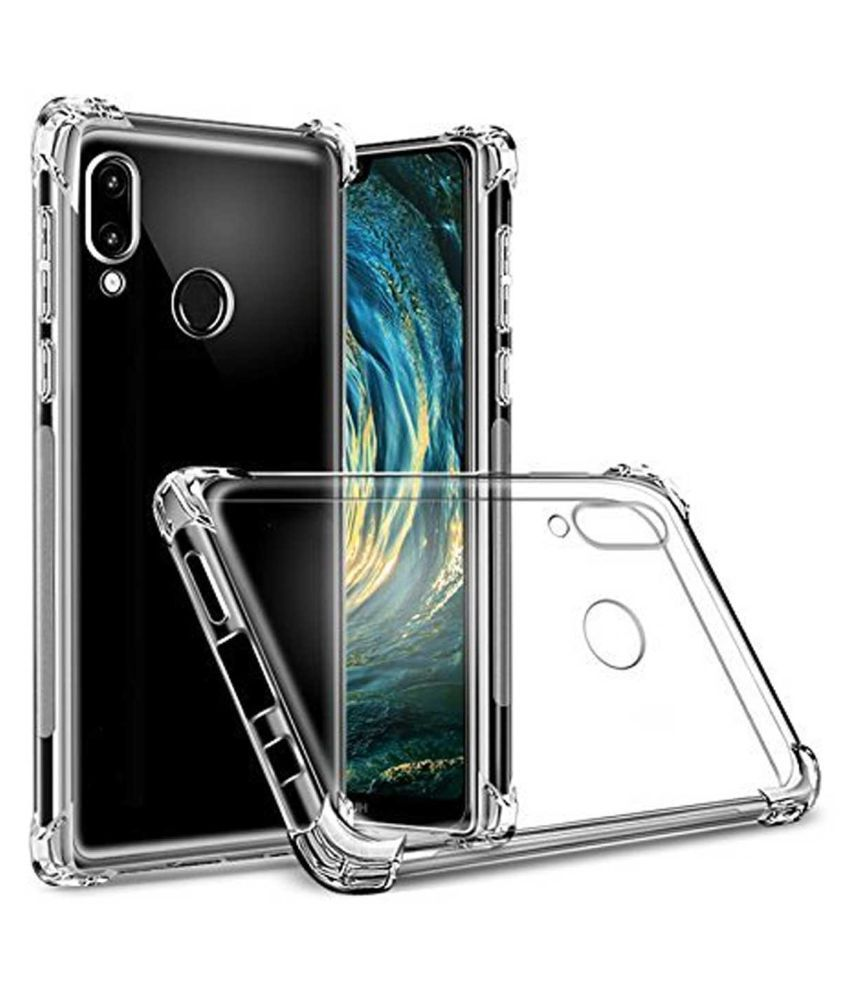 Vivo Y95 Plain Cases TBZ - Transparent