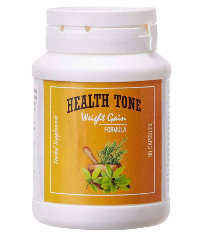 Health Tone Weight Gain Natural Herbal Weight Gain Capsules Thailand 1 gm Unflavoured Single Pack