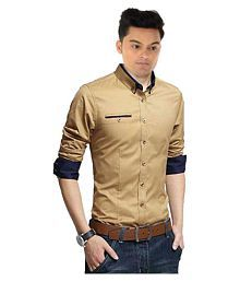c13faeff2e2 Gold Shirt  Buy Gold Color Mens Shirts Online in India at Low Prices ...