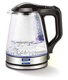 Kent 1.7 Liters 1500 Watts Glass Electric Kettle
